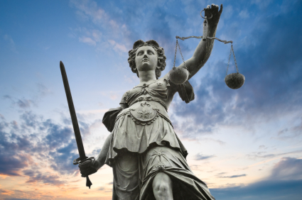 statue, justice, scales