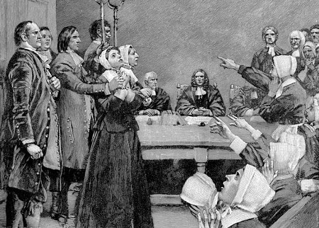 The 17th Centuary saw the witch trials in both Pendle and Salem