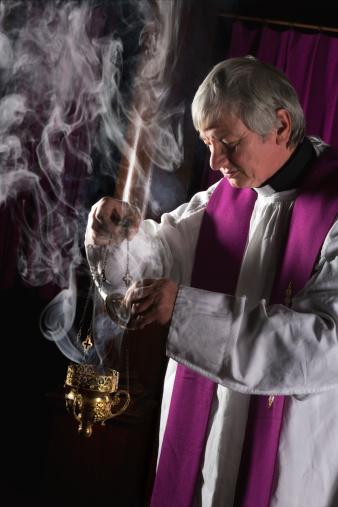 priest purple