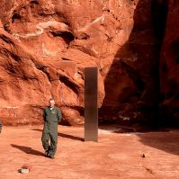 2020: A Space Odyssey - Mysterious Monolith in Utah Sparks Big Questions