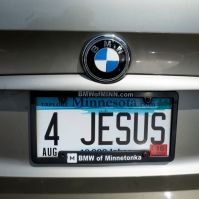 "Kentucky Man Wins Battle Over ""I'M GOD"" License Plate"