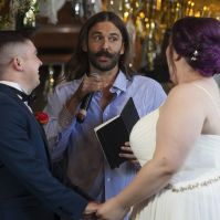 'Queer Eye' Star Jonathan Van Ness Officiates Wedding for Seattle Couple
