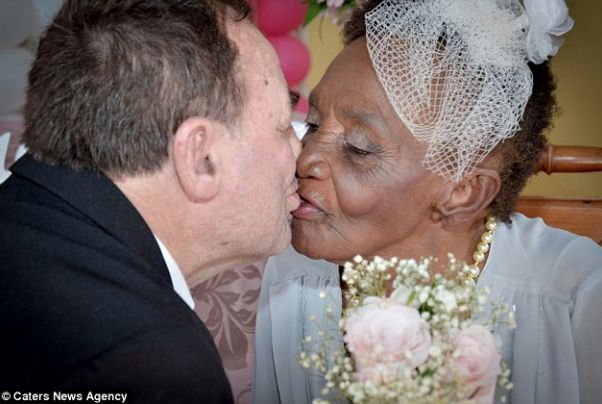 106-year-old woman gets married