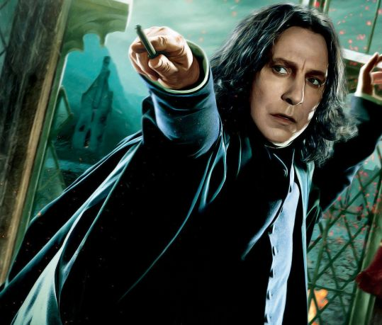 alan rickman, snape, harry potter