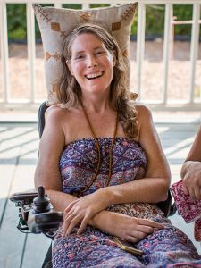 Betsy Davis, a California woman who chose assisted suicide.