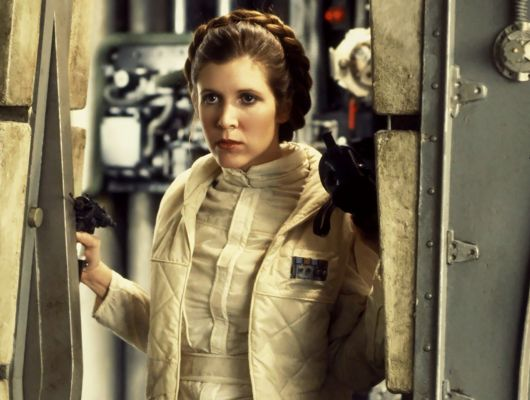 carrie fisher, empire strikes back, star wars