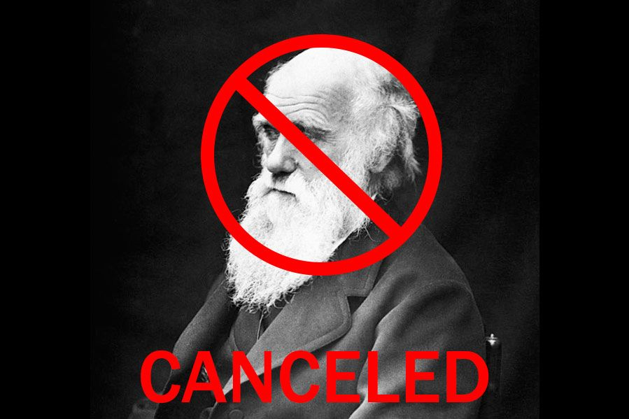 Charles Darwin canceled