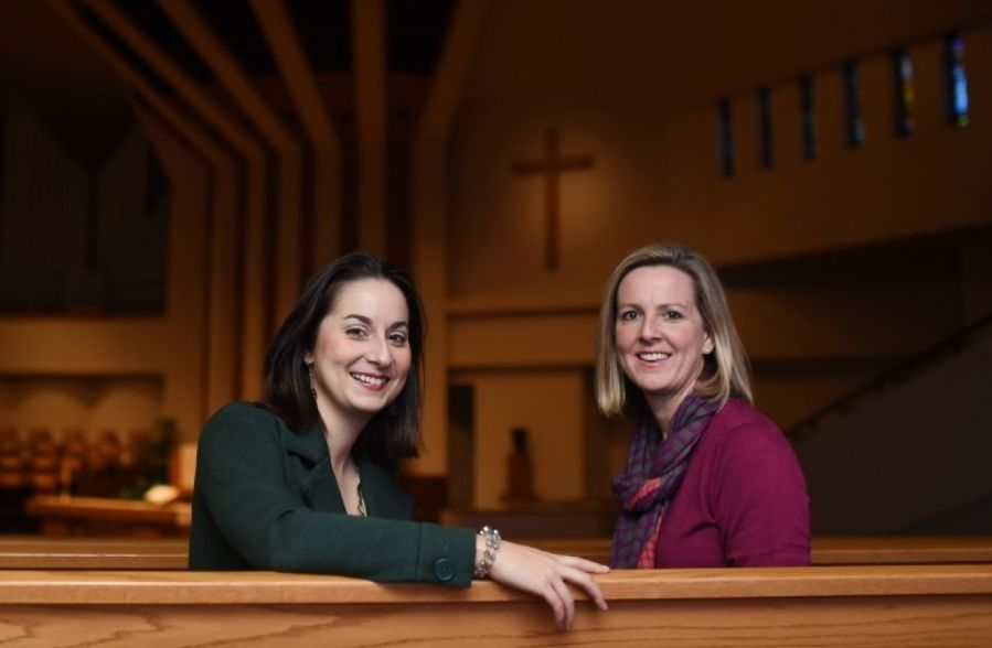 A lesbian couple chosen to be co-pastors at Calvary Baptist Church in Washington D.C.