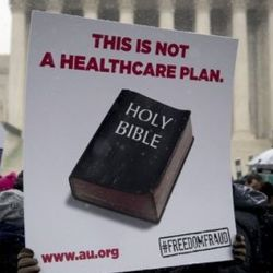 The Bible is not a health care plan