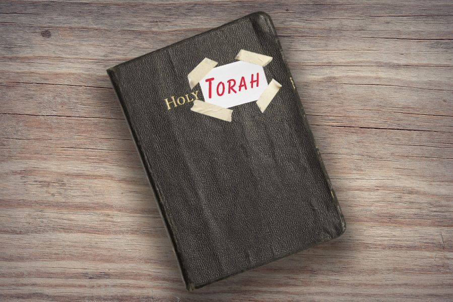 The holy bible disguised as the Torah