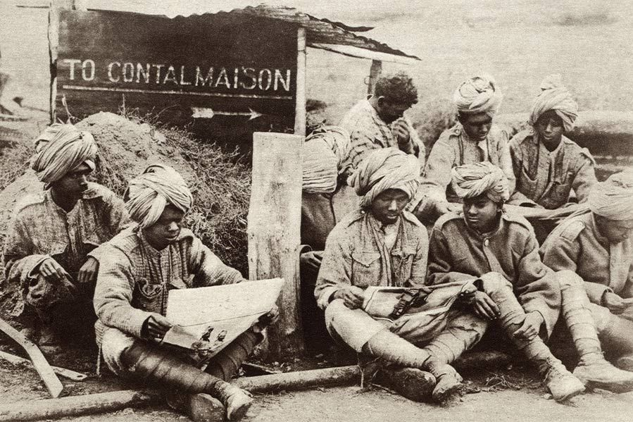 Indian Troops in WWI