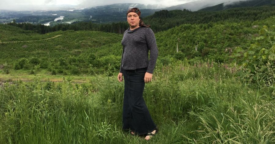 Jamie Shupe, an Oregon resident who identifies as non-binary gender.