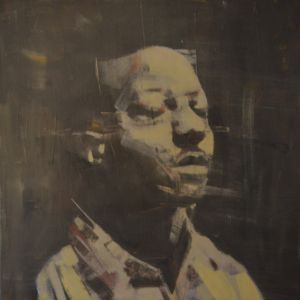 kalief browder oil painting