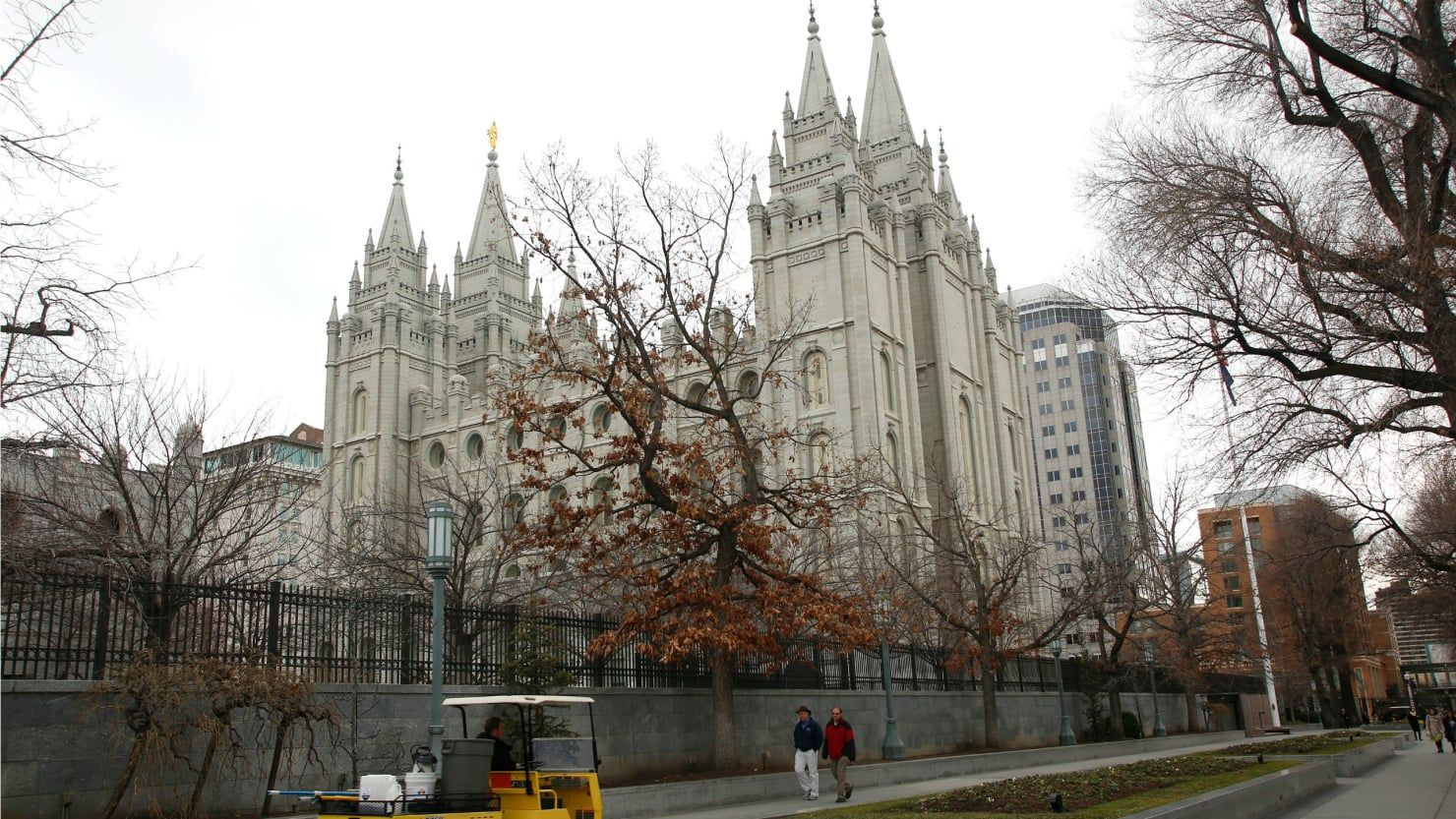 LDS church in Salt Lake City