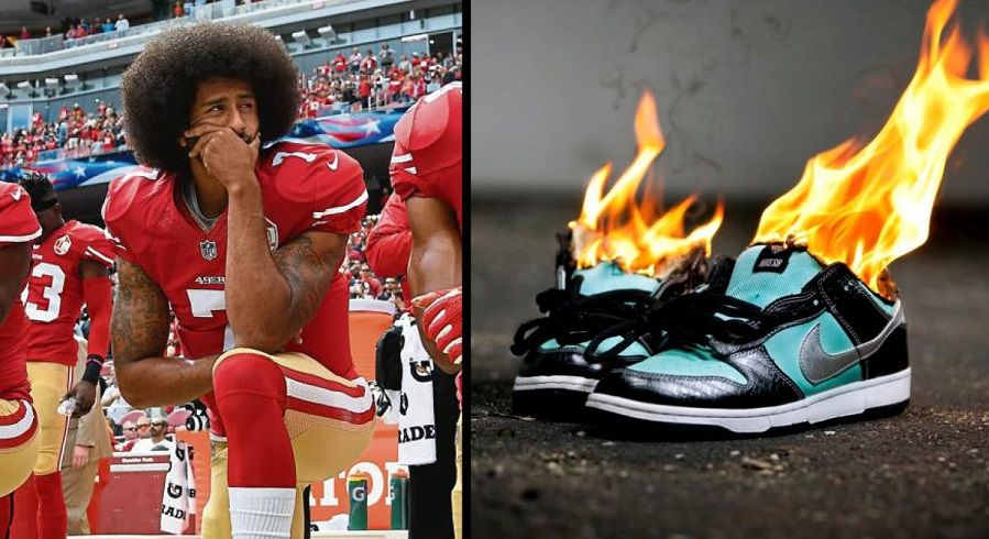 El cuarto Retocar mientras tanto  Churches Urge Kaepernick Haters to Donate Nike Shoes Instead of Burning Them