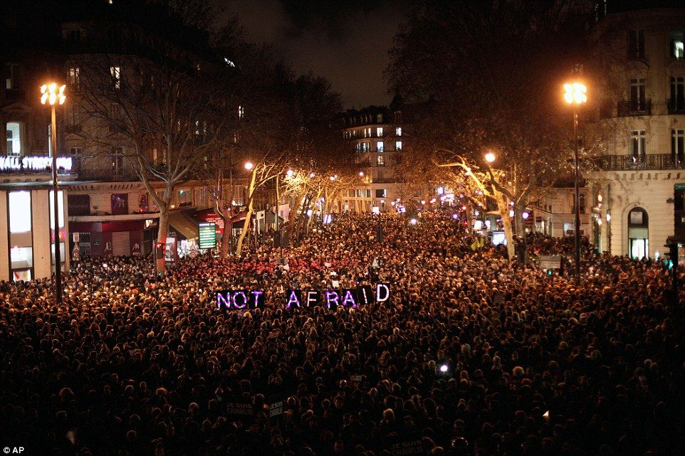 paris not afraid