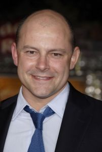 Comedian Rob Corddry on the red carpet, ULC, perform a wedding, wedding officiant