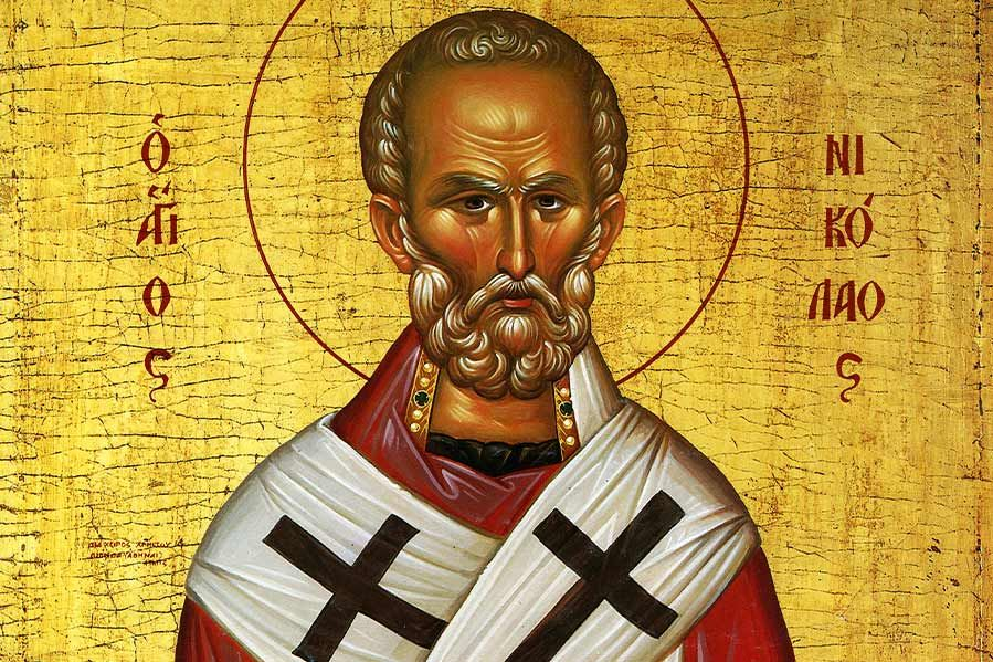Painting of Saint Nicholas of Myra