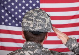 us military, american flag, chaplain, salute