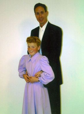 Warren Jeffs with a child bride