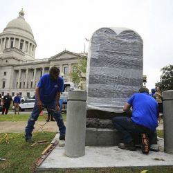 Return of the Ten Commandments: Arkansas Replaces Embattled Statue