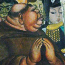 Diego Rivera's artistic critique of Catholicism