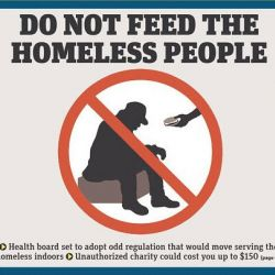 Should Feeding the Homeless Be a Crime?