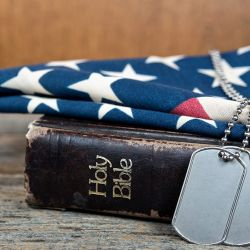 U.S. Military Blocks Army Logo From Appearing on Dog Tags Alongside Scripture