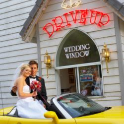 "Wedding Bells Ring at ""Vegas of the Midwest"""