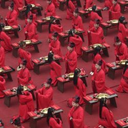 Mass Wedding Displays China's Rich Culture