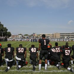 Christian University Forces Athletes to Stand for National Anthem