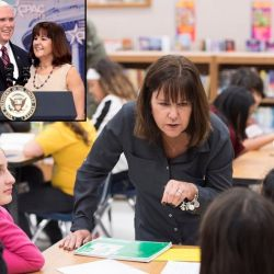 Karen Pence Draws Criticism for Taking Job at Anti-LGBT School