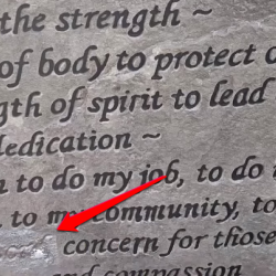 "City Removes ""Lord"" References From Police Monument"