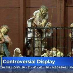 Nativity Scene with Baby Jesus in Cage Draws Religious Ire
