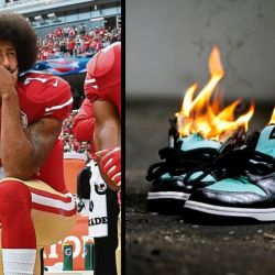 Churches Urge Kaepernick Haters to Donate Nike Shoes Instead of Burning Them