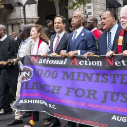 One Thousand Ministers March on Washington