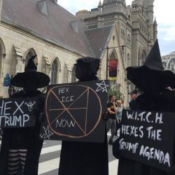 Witches Furious Over Trump's Never-Ending 'Witch Hunt' References