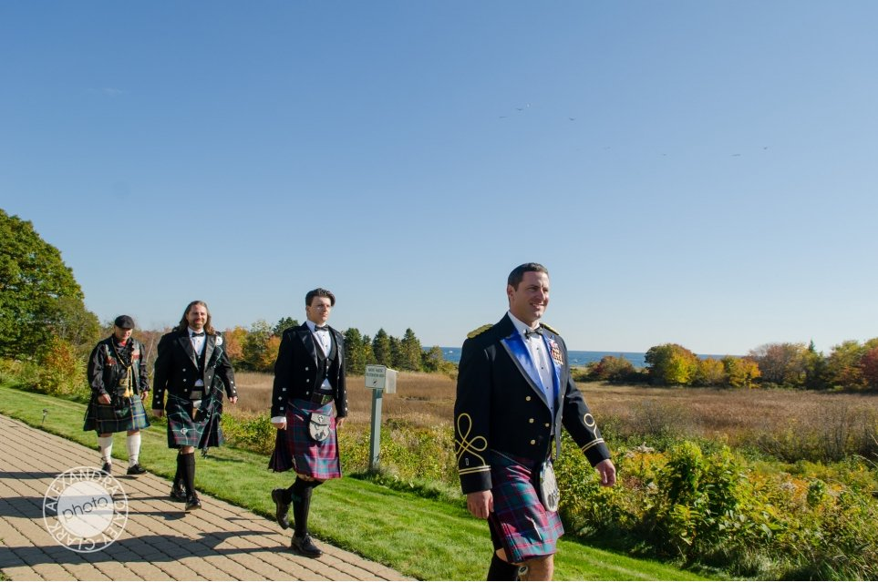 A traditional Scottish Groom on his wedding day.