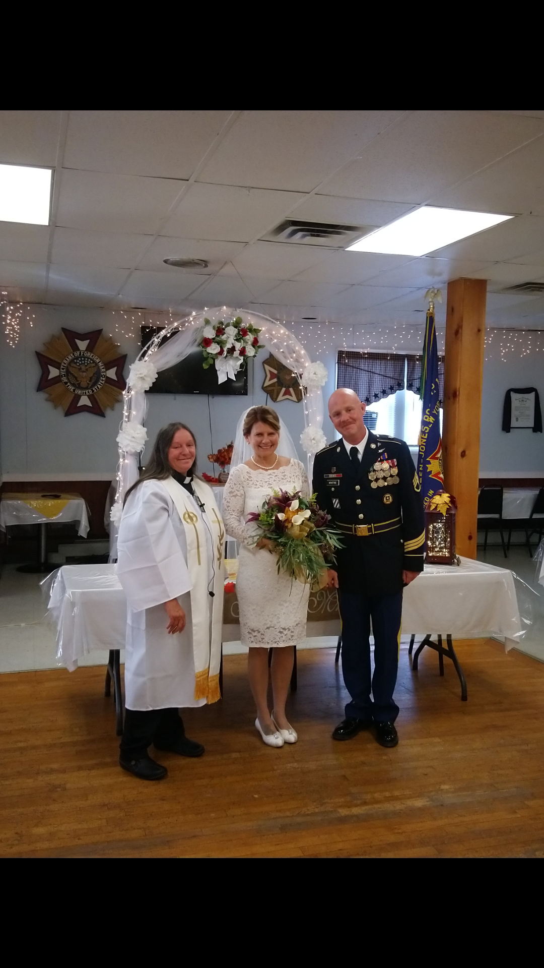 The marriage of Amylynn and David