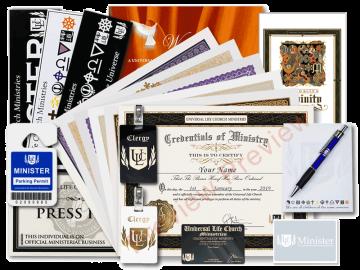 Monastery Credental Package