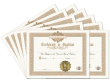 Certificate of Baptism 10 Pack