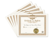 Certificate of Baptism 5 Pack