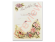 Marriage Certificate - Vintage Floral Single Pack