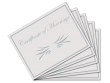 Premium Certificate of Marriage 5 Pack