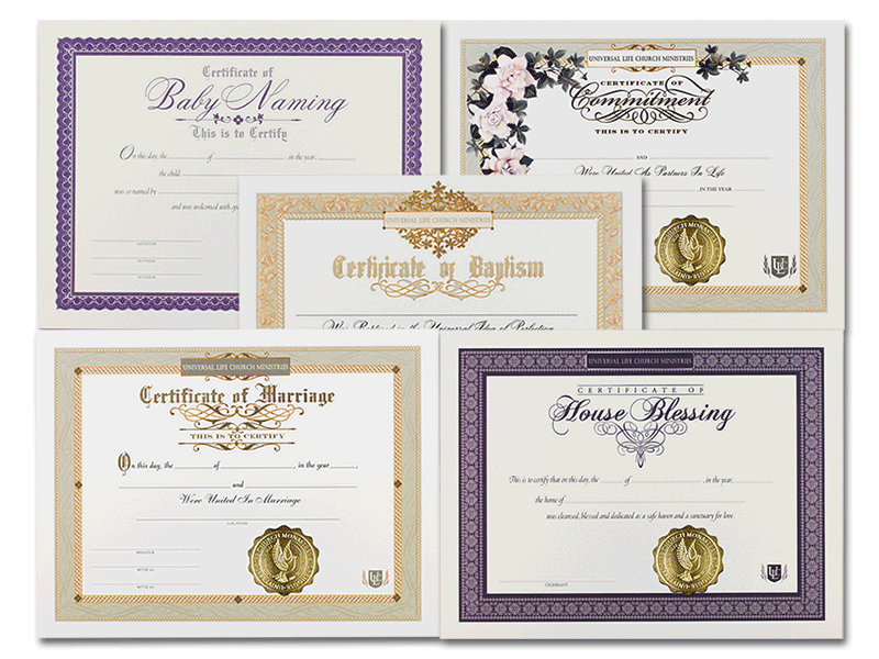Ministry-in-a-Box Certificates