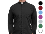 Long Sleeve Clergy Shirt