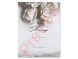Marriage Certificate - White Rose