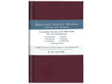 One of the most trusted names in ministerial resources, this manual contains all of the information you'll need to perform almost any church ceremony.
