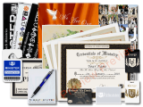 One of the ULC's more popular deals, this comprehensive package includes your credentials as well as resources like your wallet ID and our wedding guidebook.