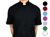 Short Sleeve Clergy Shirt